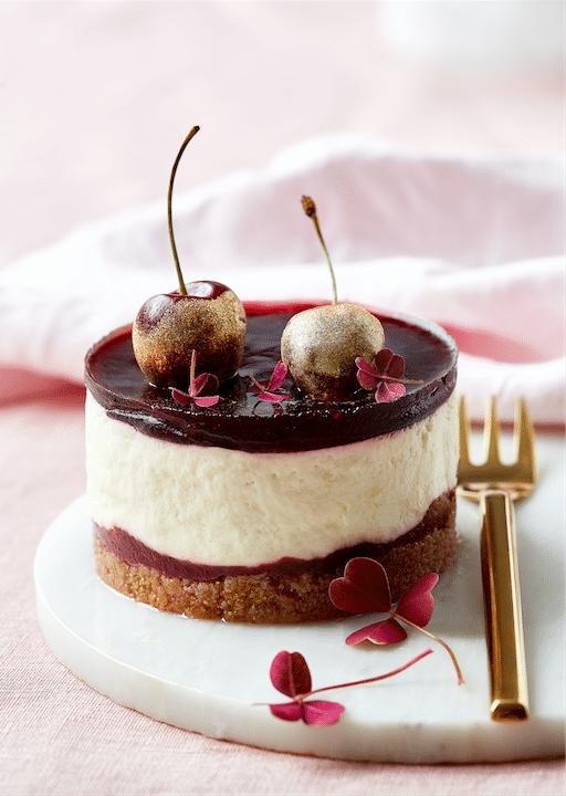 cheesecake kirsebær kardemomme citron ostecreme