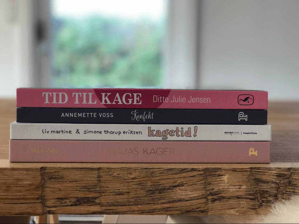 bagebøger Tid til kage udgivelser