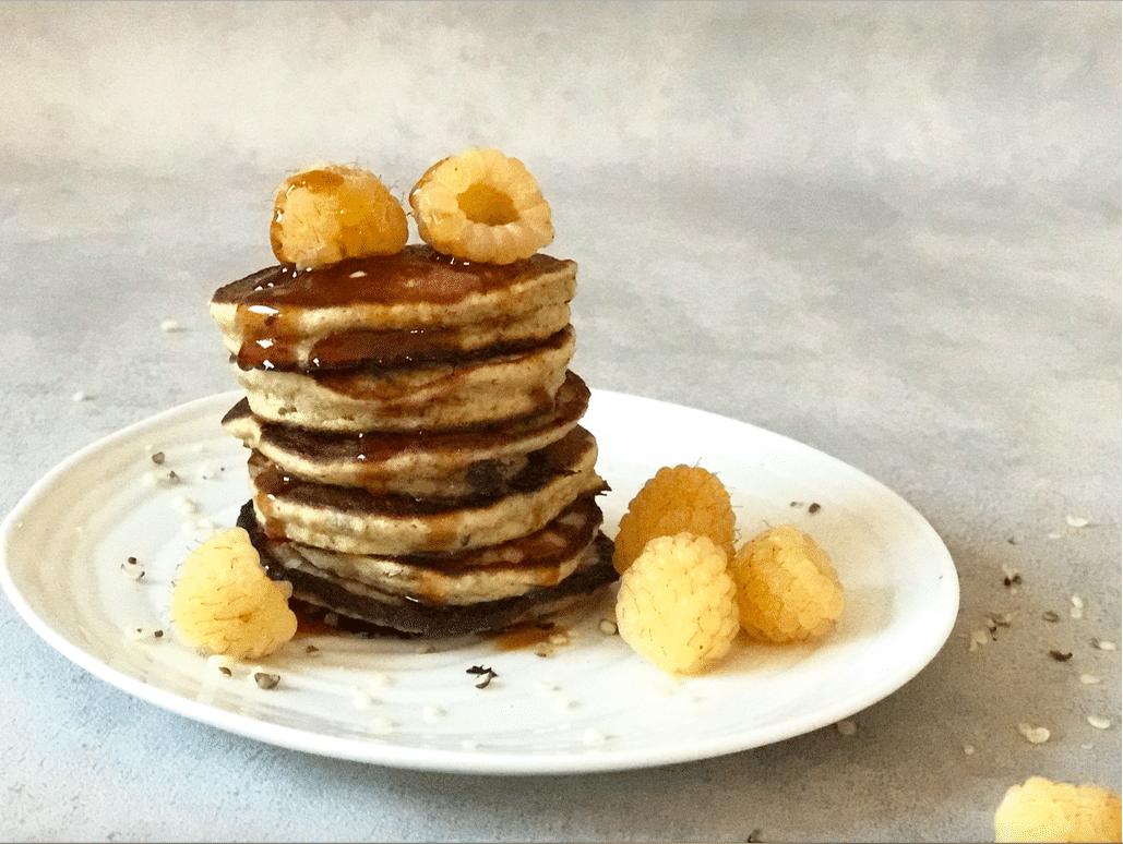 hampefrø pandekager glutenfri pandekager