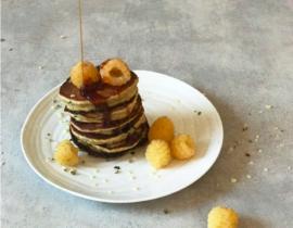 hampefrø-pandekager