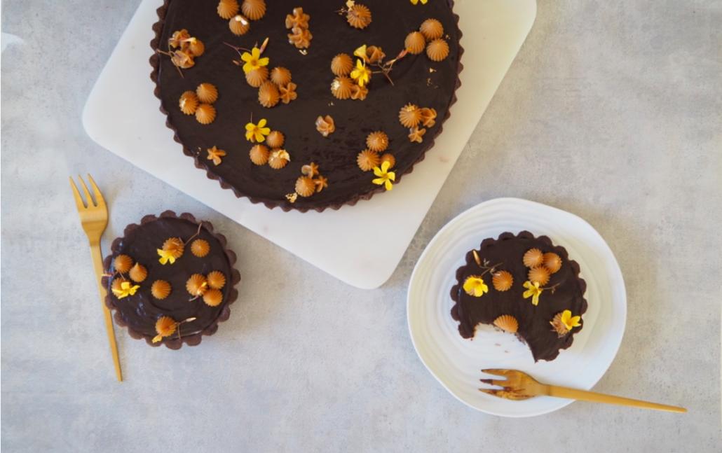 chokoladetærte bananmazarin chokolade banoffee