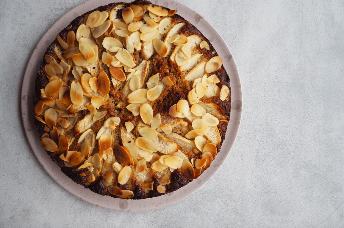 Sukkerfri og glutenfri pærekage cake factor