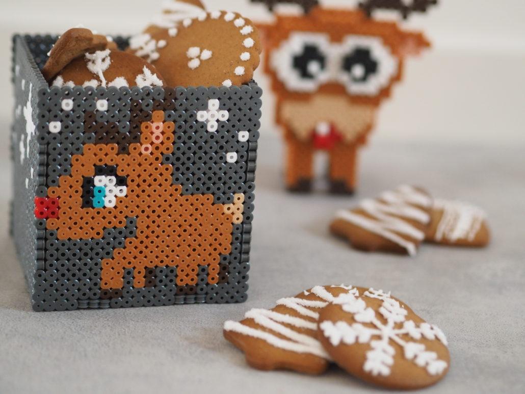 kreativ julehygge perleplader brunkager