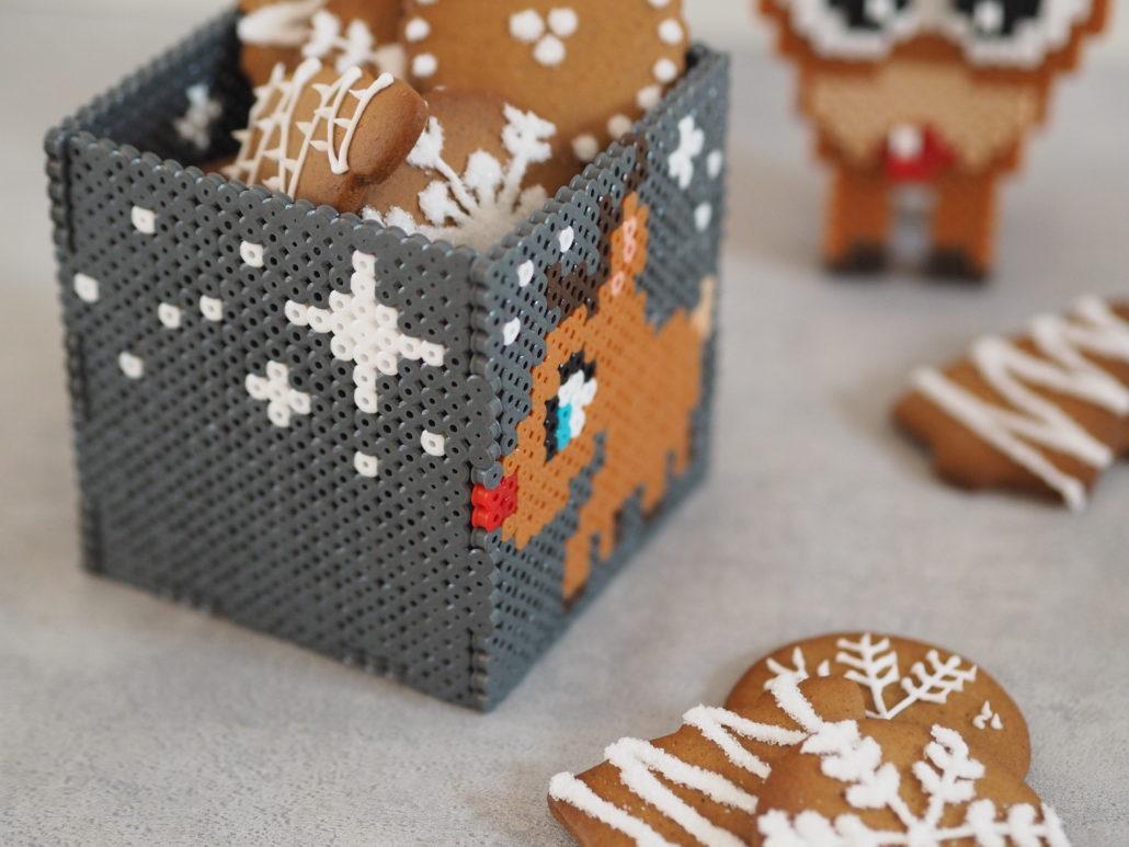 kreativ julehygge perler æsker