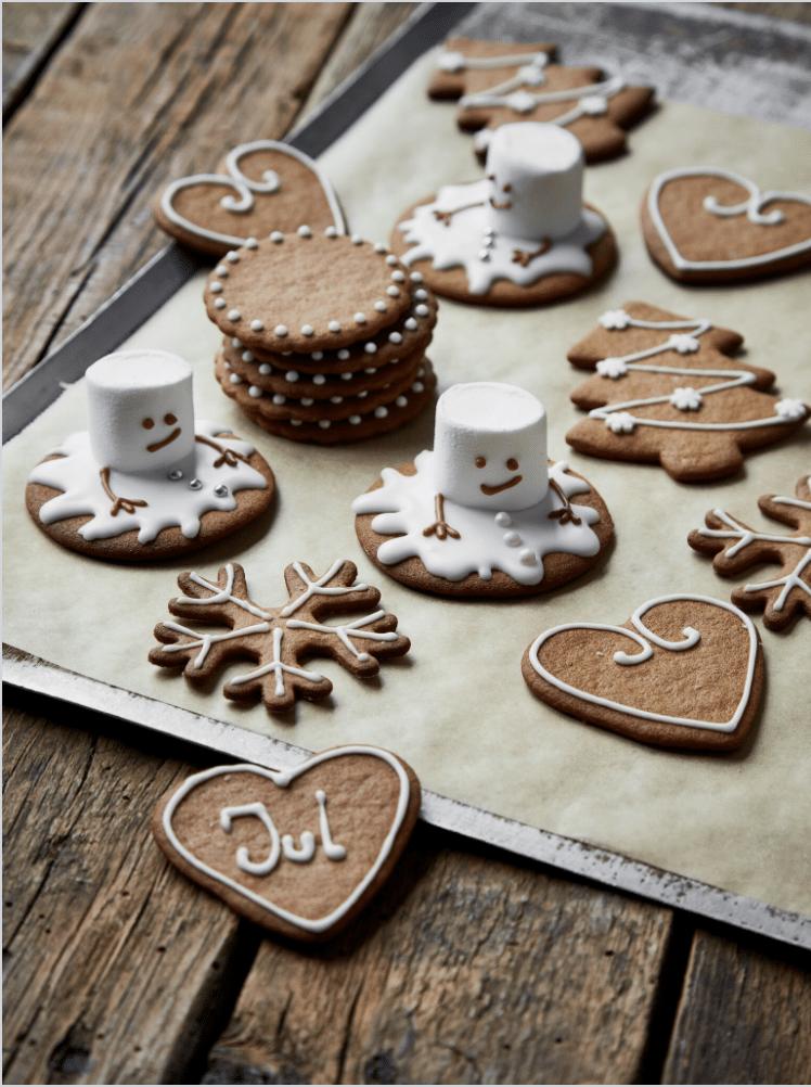 julesmåkager brunkager småkager