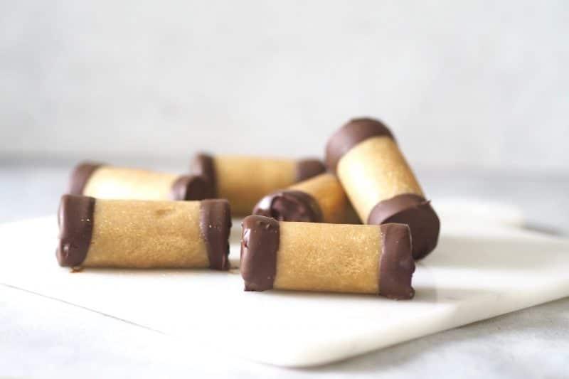 Sunde træstammer sunde snacks