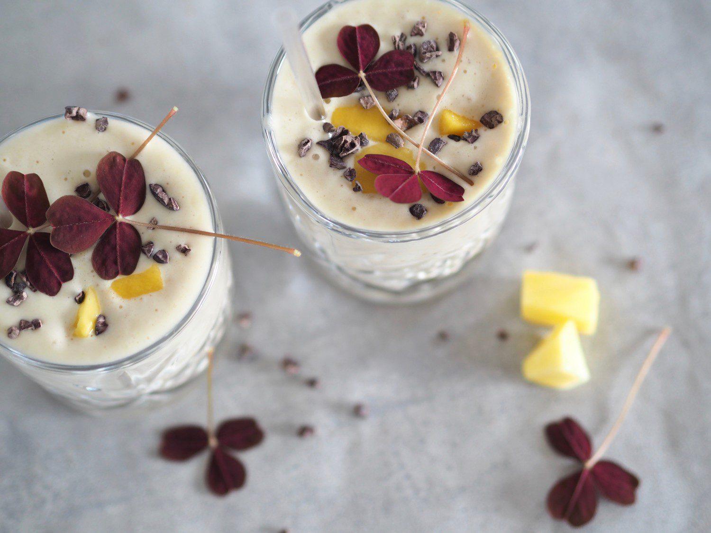 protein smoothies mango