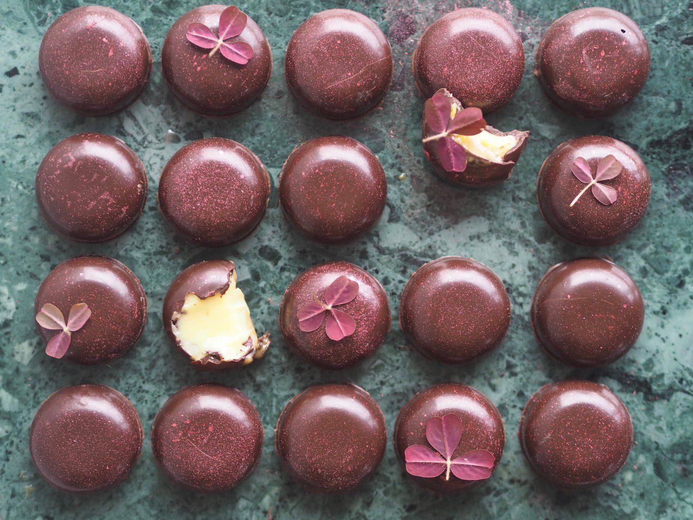 fyldte chokolader passionfrugt