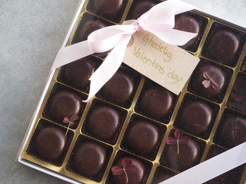 fyldte chokolader valentines day