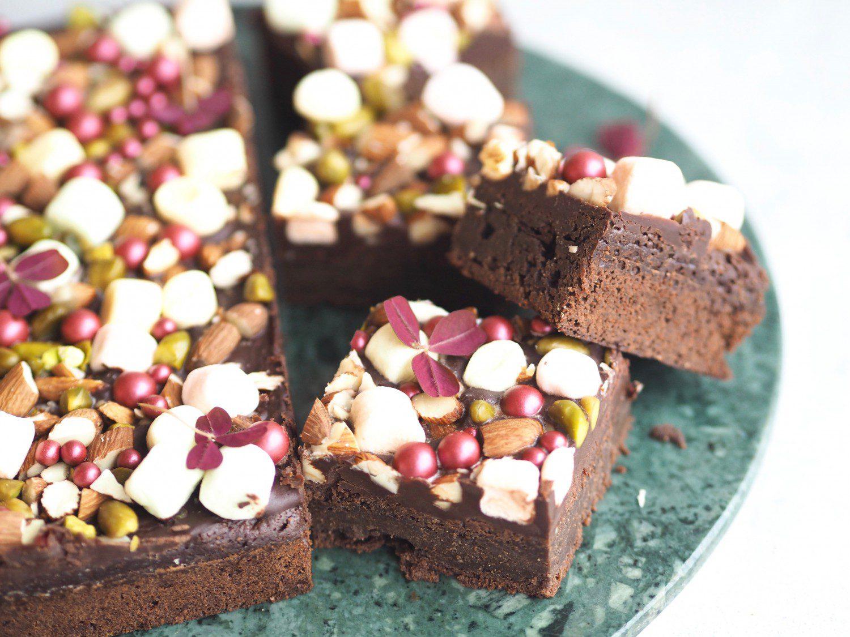 nem opskrift på brownie