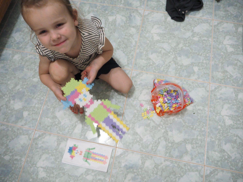 legetøj til flyturen