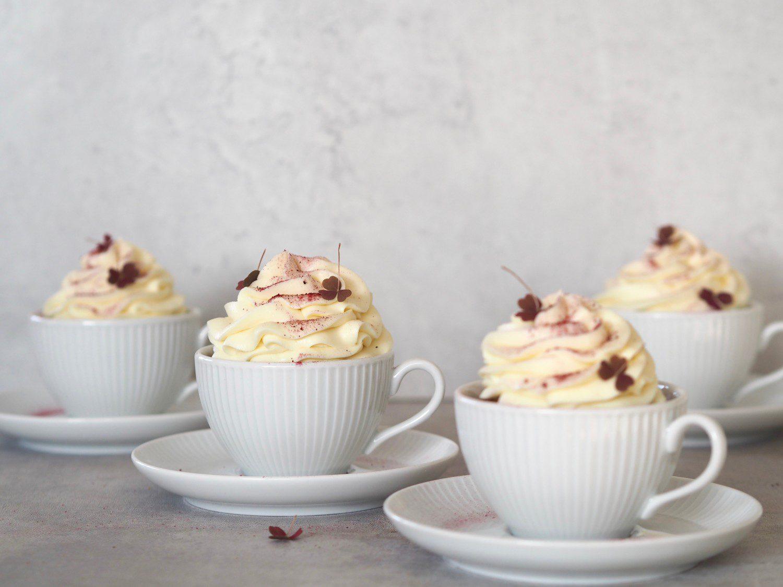 kage mazarinkage hvid chokolade