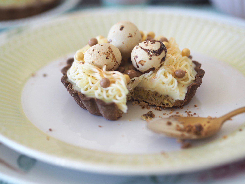 påsketærter tærte påske pistacie