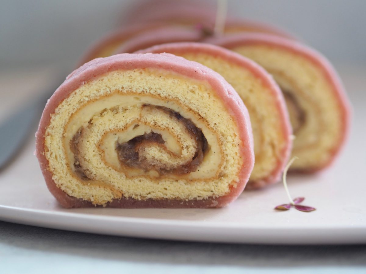 roulade med creme