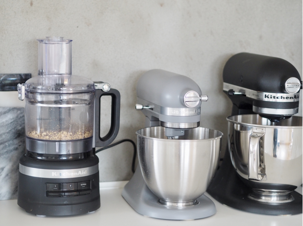 foodprocessor kitchenAid roermaskiner