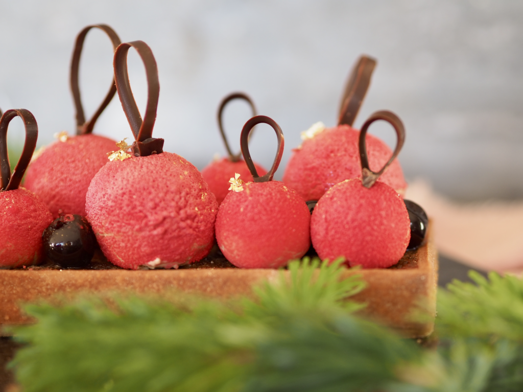 Spiselige julekugler