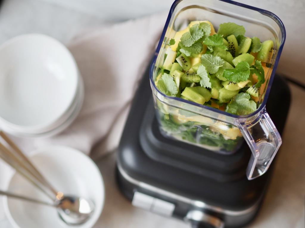 blender grøn smoothie