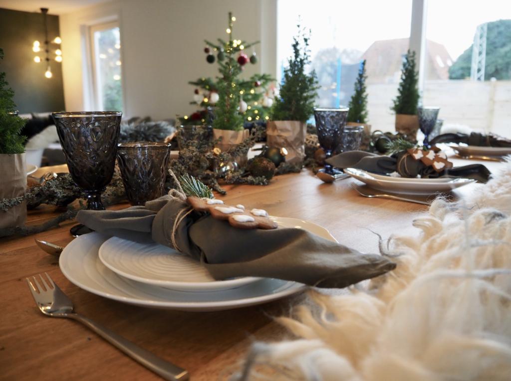 jule borddækning inspiration