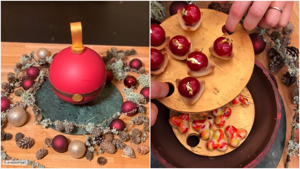 julekonfekt fyldte chokolader